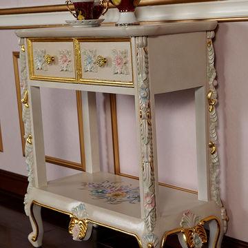 China Gabinete antiguo italiano del té de la mueble-antigüedad de la ...