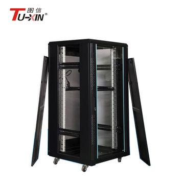 ... China 19  equipment rack 22U glass door rack mount server cabinet ...  sc 1 st  Global Sources & China 19