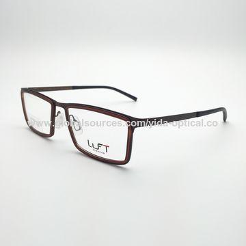 China Metal los vidrios ópticos para los hombres, bisagra de la ...