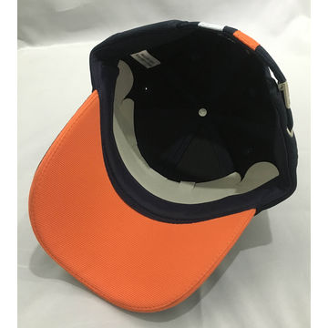... China 7-panel camper caps with self fabric strap and silver buckle back  closure ... e6d1f3ad629c
