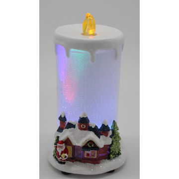 china battery operated christmas led candle home decoration