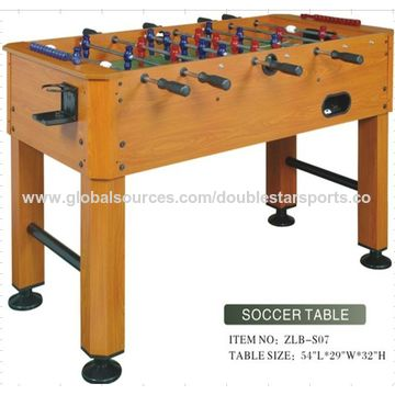 ... China MDF Wooden Cup Holders Foosball Table, Steel Cross Bar ...