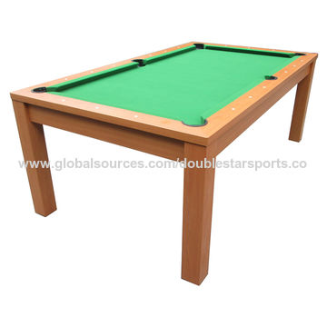... China Dining Multifunctional Classical Wooden Pool Table For Sale, MDF  With PVC Laminated Legs ...