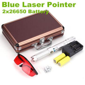 China 1W 3W 5W High Powerful Blue Laser Pointer Pen Laser Gun Laser Torch Military Grade Burning Match
