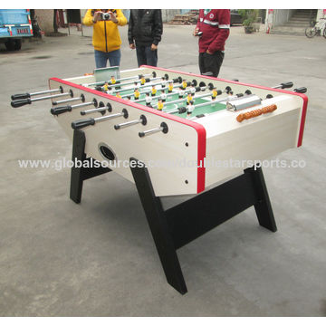 ... China Foldable MDF Indoor Foosball Table, Wooden Manual Slide Scorers  ...