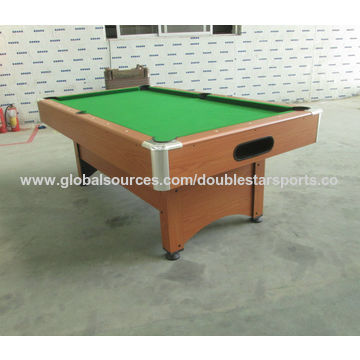 China Ft Big Human MDF Pool Table With No Pocket ABS With Plating - Pool table no pockets