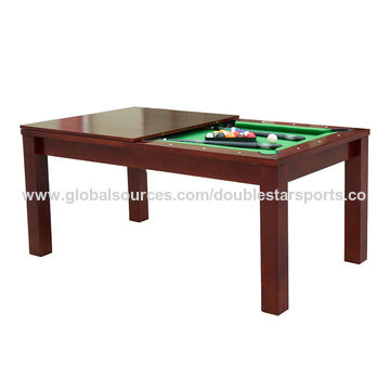 ... China Dining International Standard Size Billiard Table And  Accessories, MDF With PVC Lamination ...