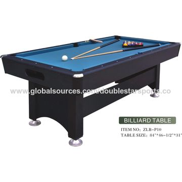 China Modern Wooden No Pocket Pool Table Ft ABS With PVC - Pool table no pockets