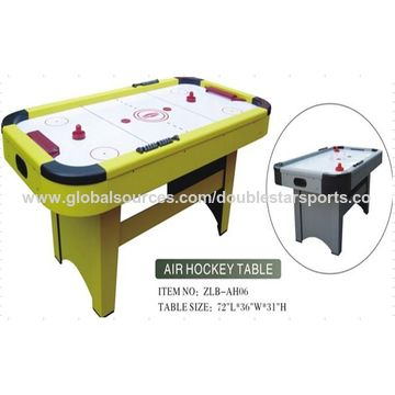 China Mdf Pvc Laminated Indoor Air Hockey Tables For Sale