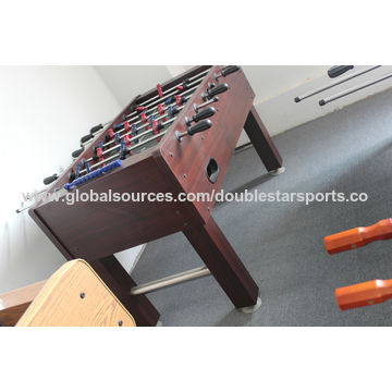 ... China High Quality MDF Soccer Foosball Game Table With Water Cup Holder  ...