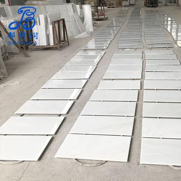 China 60x60 Nano White Granite Tile Discontinued Slab Low E