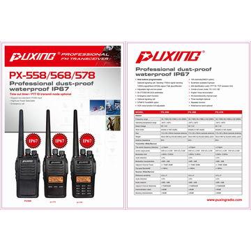 China Handheld two-way radio IP67 waterproof ham radio HF