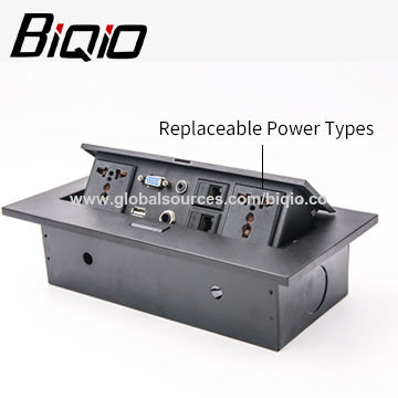 China Conference Table Electric Tabletop Power Socket High Quality - Conference table electrical sockets
