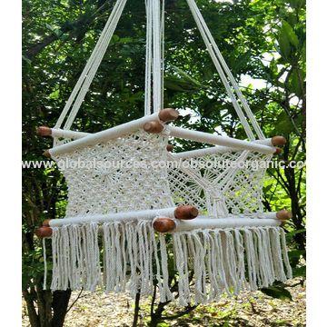 india 100  safe handmade organic cotton macrame baby swing  u0026 hammock     india 100  safe handmade organic cotton macrame baby swing      rh   globalsources