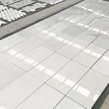 China Pure White Marble Flooring Tile Cheap Orient Ceramic Gres Monococcion