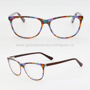 China Multi Color Prescription Eyewear Ready Made Optical Acetate ...
