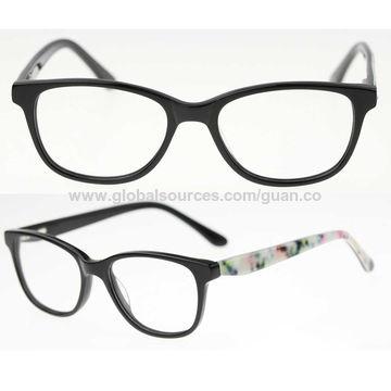 China Free MOQ Ready Made Acetate Optical Prescription Eyeglasses ...