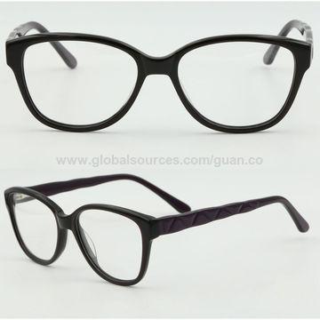 China Fashion Women\'s Style Acetate Optical Prescription Eyeglasses ...