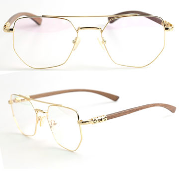 China Wooden Optical Frames Nature Maple Made Prescription Double ...