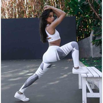 bc32b6b16f ... China Women tight pants yoga woman printing high waist leggings ...