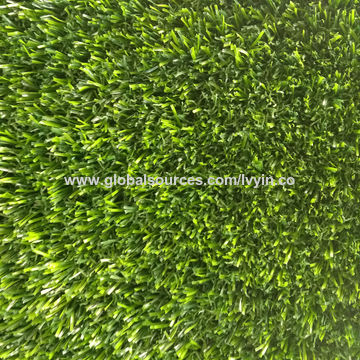 china u shaped 25mm artificial grass and synthetic grass for landscape and garden decoration