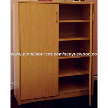 ... China 5 Drawers With Mirror Furniture Tall Wooden Shoe Rack Cabinet ...