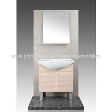 ... China L Shaped Bathroom Wall Cabinet Ready Made, Modern Bathroom Vanity  Sets For Hotel ...