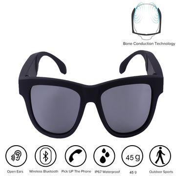 675c4d26ac ... China Waterproof Bone Conduction Bluetooth Headphones Smart Sunglasses  Glasses with Microphone ...