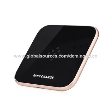 China Advanced Fast Wireless Charger for iPhone 8/X/Samsung Galaxy S6/S6 Edge