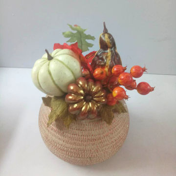 china fall season vintage artificial flowers mixed arrangement in