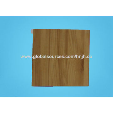 China 10mm Wooden Grain Mold Proof Pvc Wall Ceiling Panels