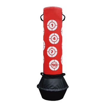 Taiwan Heavy Tile Free Standing Punch Bag Pu Foam With High Density