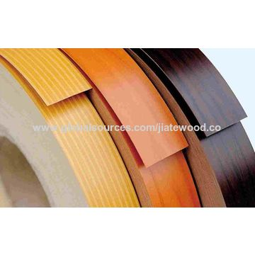 China Wooden Grain Color PVC Edge Banding on Global Sources