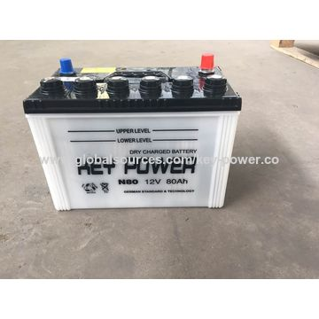 China 55559 Auto Car Battery, 12V/55Ah on Global Sources