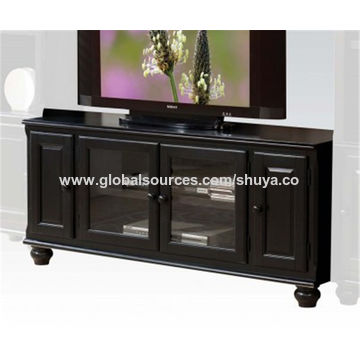 China 2018 Top Sell Modern Design Wooden Tv Stand Tv Table Mounted