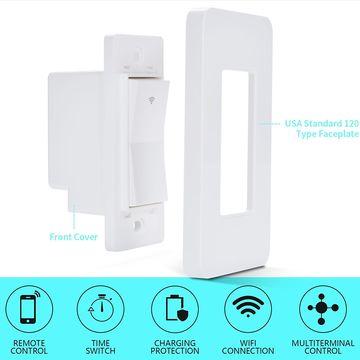 China Smart Wi-Fi Wall Switch US Ewelink App Remote Control