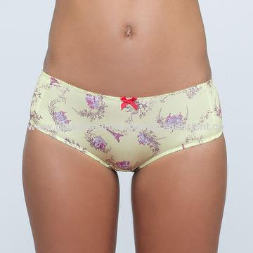 035171079e4ec China Micro-fiber printed bra brief underwear set on Global Sources