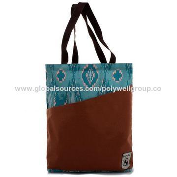 China Fashionable Good Quality Canvas Tote Bags Logo Custom Printed