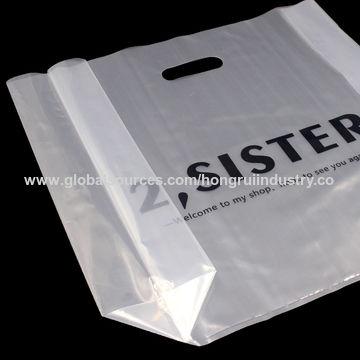 Cortada La Plástico Tintas Bolsa China Manija Con pUMzGSVq