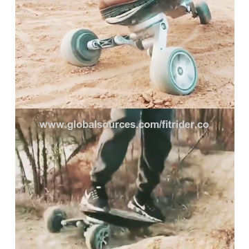 China Cross Country Electric Skateboard, Carbon Fiber Frame RxD on ...