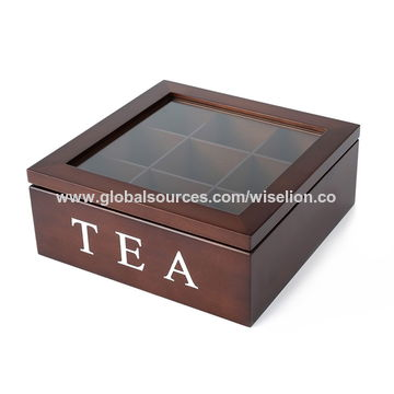 ... China Custom Bamboo Tea Storage Box Wooden Tea Box Packaging Luxury Tea  Gift Box ...