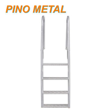 China Stainless Steel Frame Above Ground Swimming Pool Ladder on ...