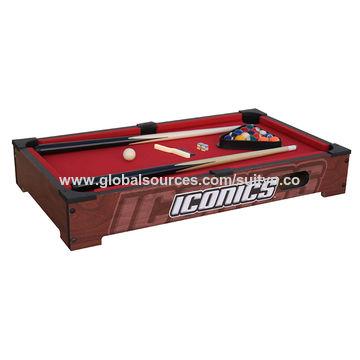 China Mini Tabletop Pool Set- Billiards Game Includes Game Balls ...