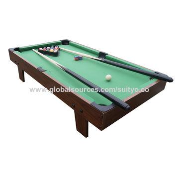 China Mini Tabletop Pool Set, Billiards Game Includes Game Balls ...