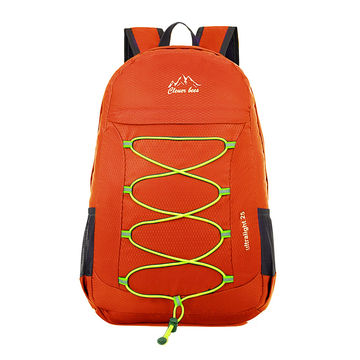 ... China Fashion Promotional Foldable School Bag Travel Backpack ... 1fcc0d872a555