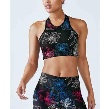 bf73bc647d926 ... China Training sports bra printed tank tops custom design yoga bra for  women ...
