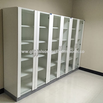 ... China Steel Solvent Cabinets With Exhaust Outlet;Glass Double Doors Steel File Storage Cabinet & China Steel Solvent Cabinets With Exhaust Outlet;Glass Double Doors ...