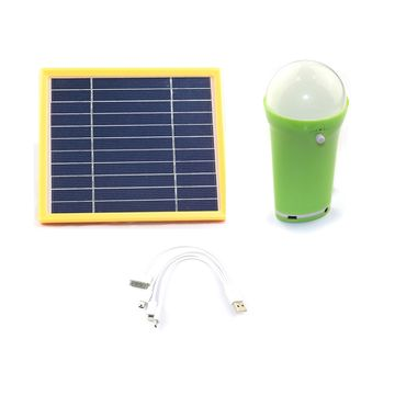 China Portable Solar Light With Remote Controller Indoor Use Led Home System