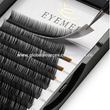 China Eyelash Extensions 0 20 D Curl Natural Thick Individual Lashes