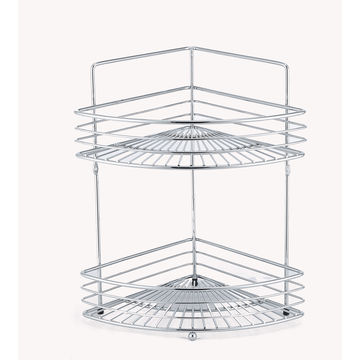 China Chrome-/Copper-plated Metal Wire Bathroom Hanging Shower Caddy ...
